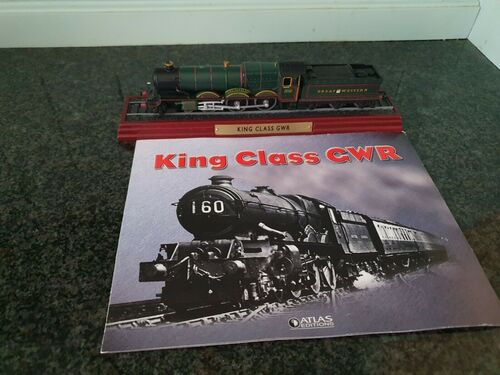 ATLAS Editions - King Class GWR - Scale 1:100 Model Train